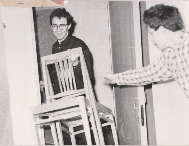 1970 год, заселение в новое общежитие