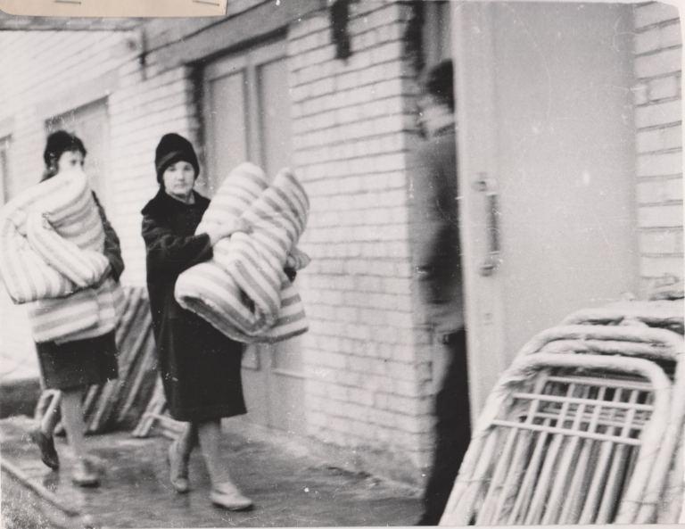 1970 год, студенческое новоселье