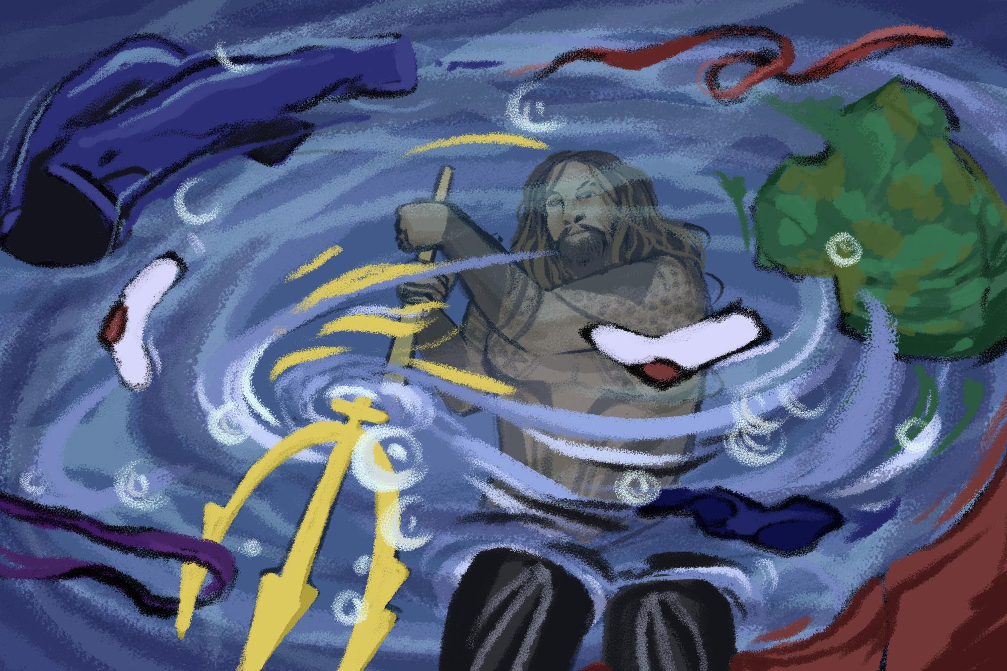 Бог морей, царь стиралок